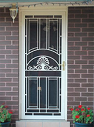 Aluminium Security Doors